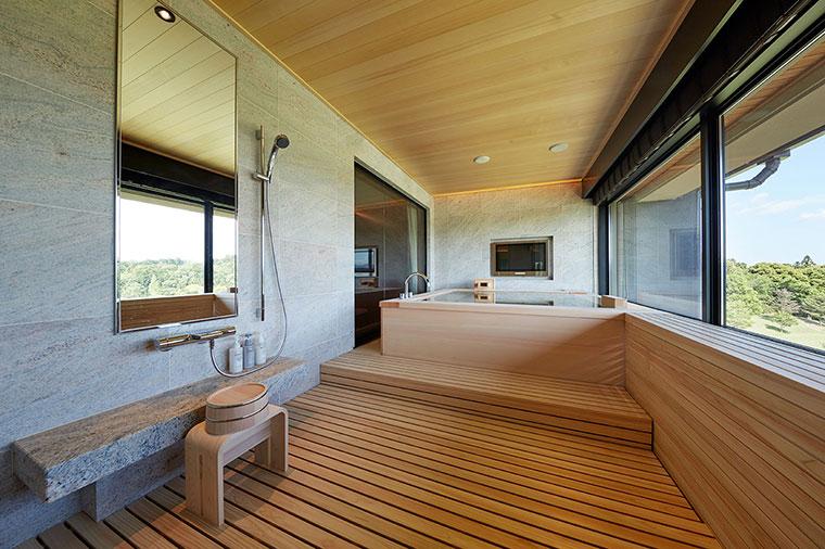 ロイヤルスイート 檜風呂