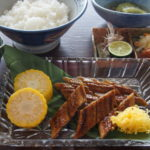 鰻の蒲焼と冷汁