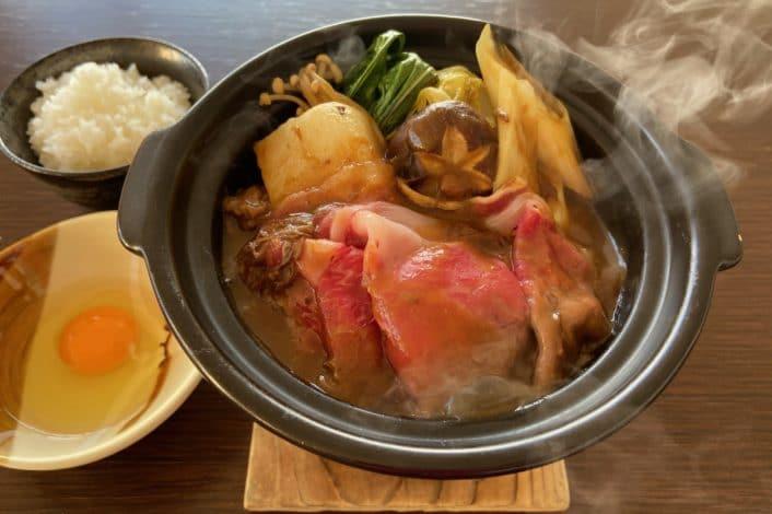 牛すきカレー鍋